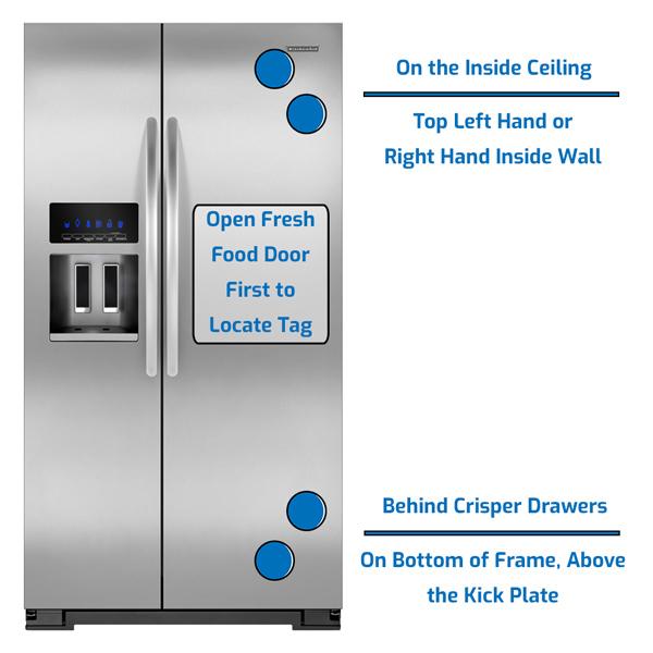 KitchenAid Refrigerator Side by Side