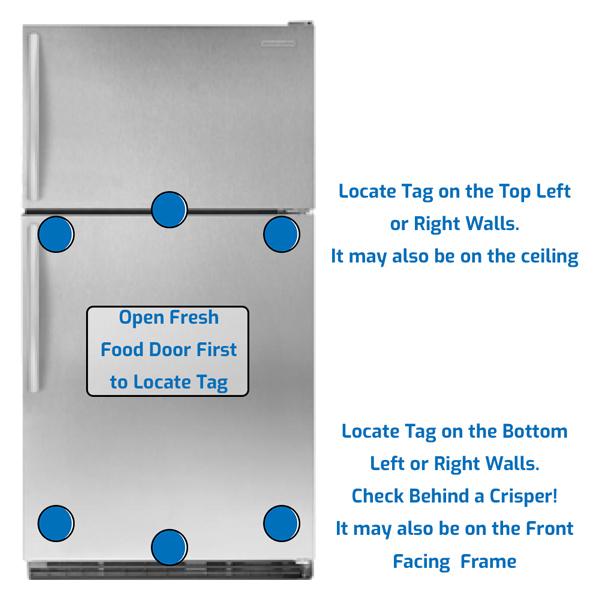 KitchenAid Refrigerator Freezer on the Top