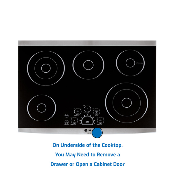 LG Cooktop Electric