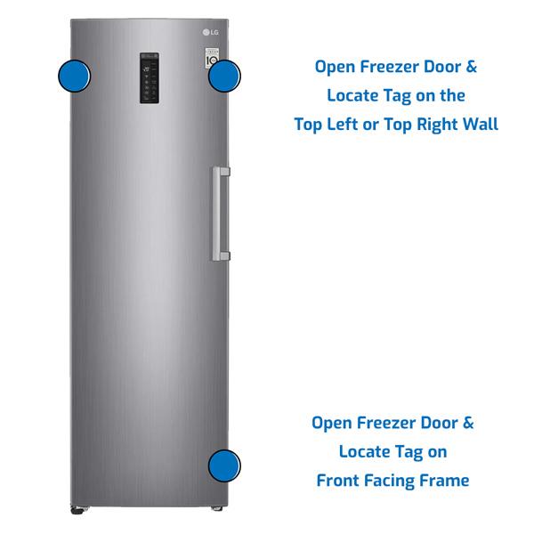 LG Freezer Upright