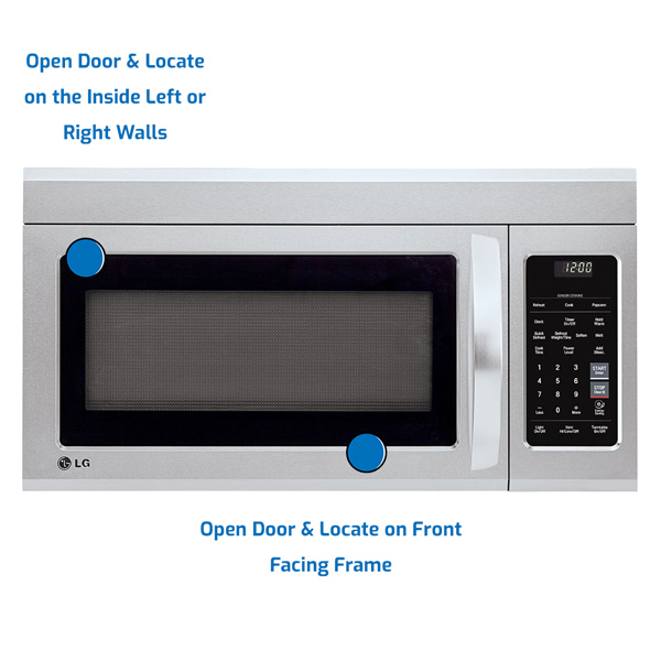 LG Microwave Over the Range