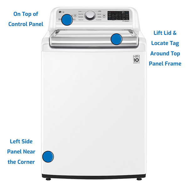 LG Washer Top Load