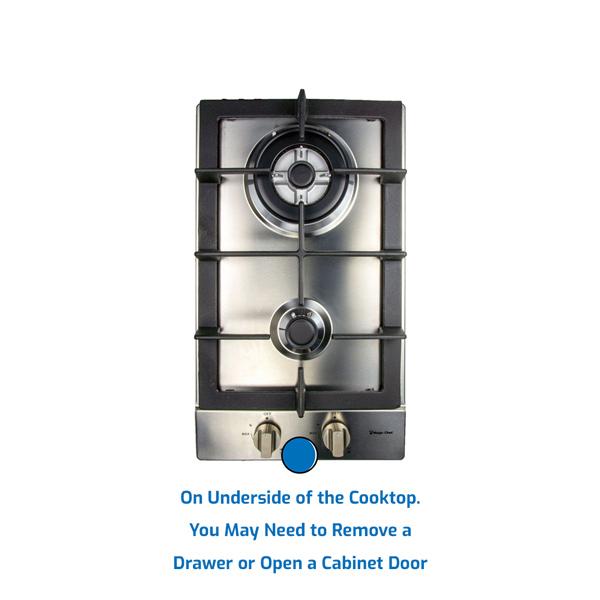 Magic Chef Cooktop Gas