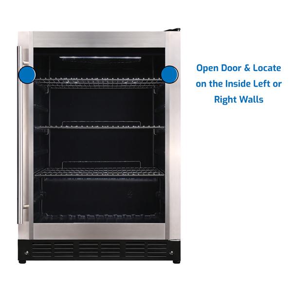 Magic Chef Refrigerator Under Counter