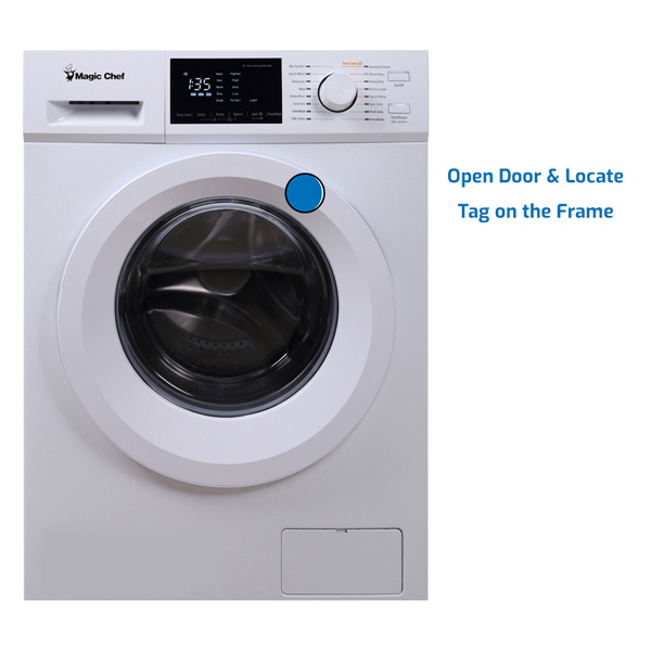 Magic Chef Washer Front Load