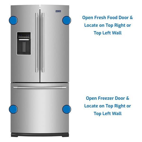 Maytag Refrigerator Freezer on the Bottom