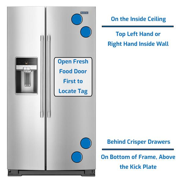 Maytag Refrigerator Side by Side