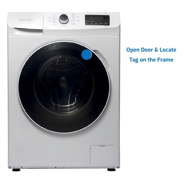 Sharp Washer Front Load