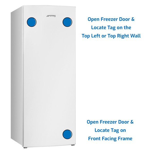 Smeg Freezer Upright