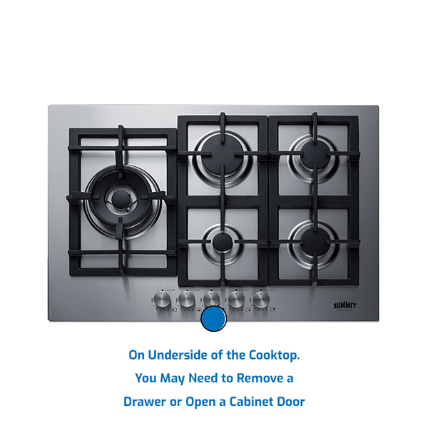Summit Cooktop Gas
