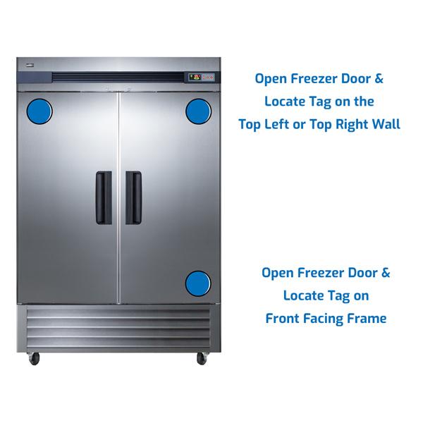 Summit Freezer Upright