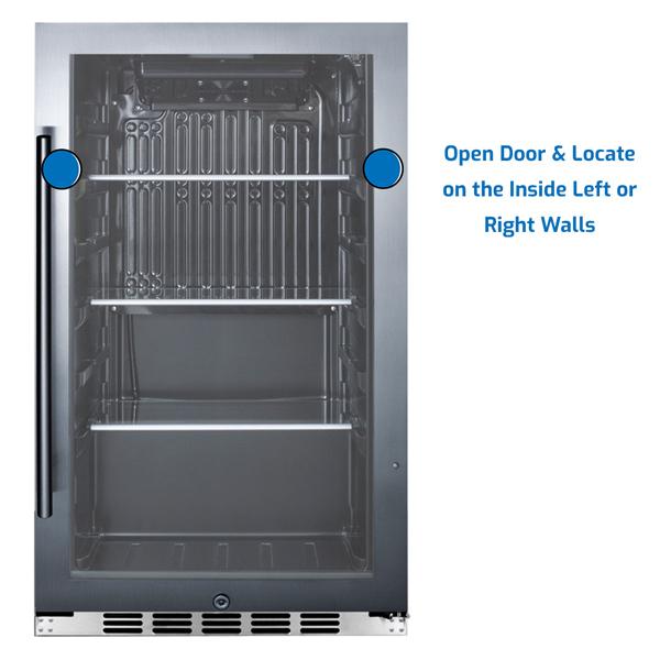 Summit Refrigerator Under Counter