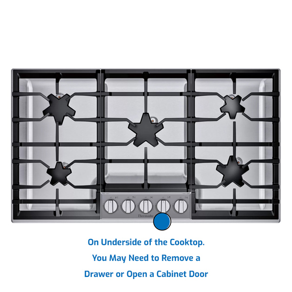 Thermador Cooktop Gas