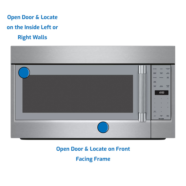 Thermador Microwave Over the Range