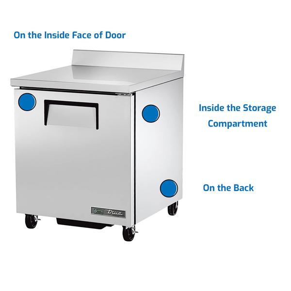 True Refrigeration Freezer Chest