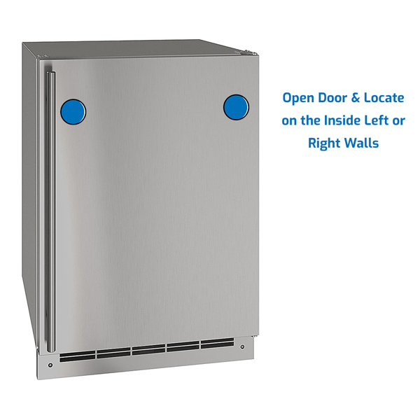 U-Line Freezer Upright