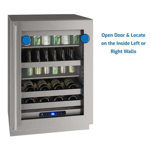 U-Line Refrigerator Under Counter
