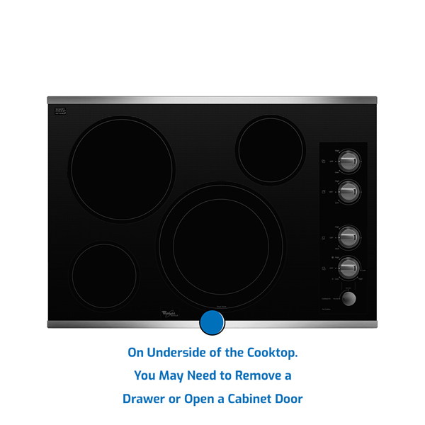 Whirlpool Cooktop Electric