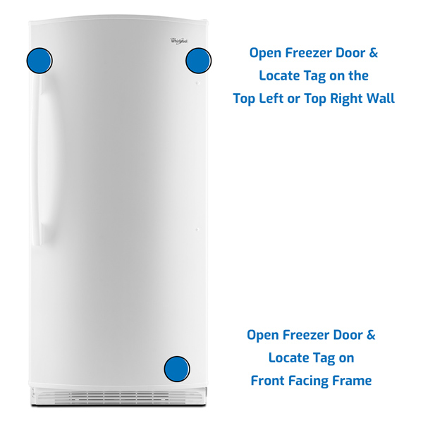 Whirlpool Freezer Upright