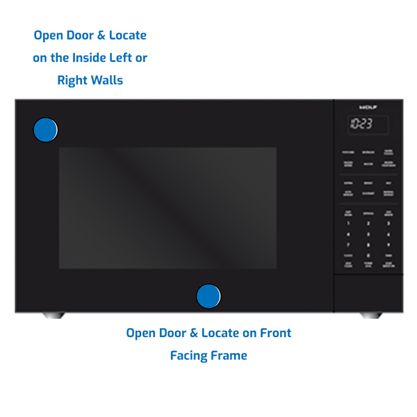 Wolf Microwave Countertop