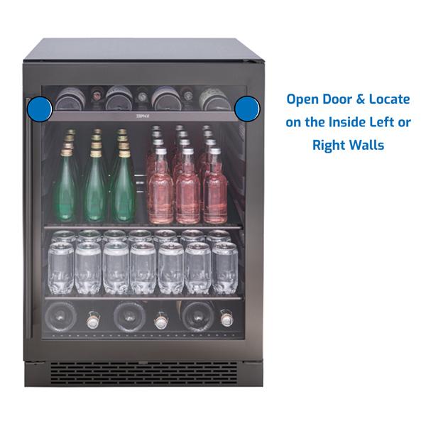 Zephyr Refrigerator Under Counter